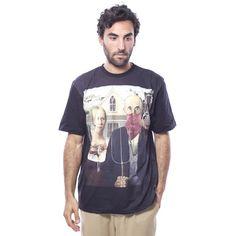Camiseta Open Mind Negra - Camisetas - Hombre www.ebolet.com  #ebolet #camiseta #urbana #street #chico