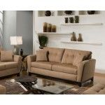Simmons Upholstery - Luna Sofa In Latte - 6565-03