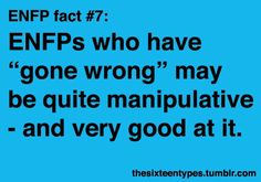 ENFP...thanks to Jehovah i hsvent gone wrong!! Except a couple of speeding tix ;D