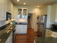 Beautiful kitchen and flooring. Home is located in Palmyra PA and is available for purchase.