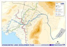 Die Athener U-Bahn wurde von Attic Meters und ISAP (Elektrische Eisenbahn Athen nach Piraeus) gebaut. Obwohl das Metro wurde 1954 eröffnet, Es stammt zurück von Eröffnung der Linie 1 am 27. Februar 1869 mit einer Dampflokomotive die Athen mit Piraeus verbindet.
