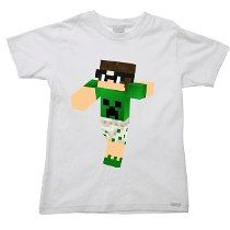 Camiseta Infantil Mike Minecraft Pac 05