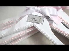 DIY: Bridesmaids Gifts - Customized Hangers (Crystals & Pearls), My Crafts and DIY Projects