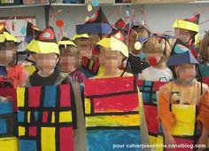 Au pays des artistes, nous avons rencontré Piet Mondrian Piet Mondrian, Joan Miro, Ecole Art, 3 Arts, Kandinsky, Art Club, Art Plastique, Art For Kids, Appreciation