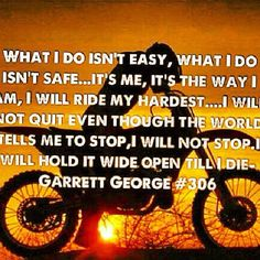 To my daughter, Kyleana. This is the spirit and enthusiasm I see in you everytime you ride!!