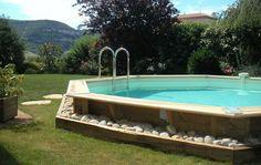 La piscine en bois Nortland Ubbink, un vrai bijou !
