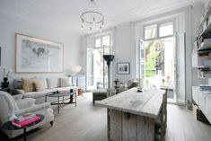 Scandi style apartment in London