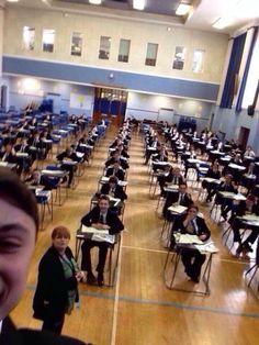 GCSE selfie