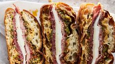 Things We Can All Agree On: This Muffuletta Is Simply Awesome | Bon Appetit