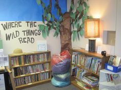 """Ms. Wooten's Classroom Library! """"Where the Wild Things Read"""""""