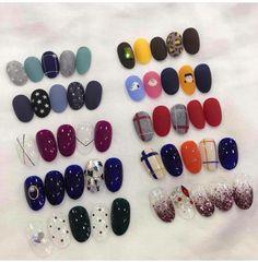 Luv Nails, Chic Nails, Swag Nails, Pretty Nails, Korean Nail Art, Korean Nails, Glitter Nail Art, Gel Nail Art, Colorful Nail Designs