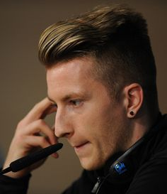 Marco Reus @watchforthesun quiff game strong as ever, eh???