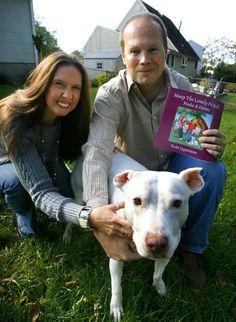 """Children's book combats pit bull myths."""