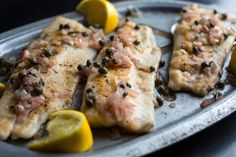 Pan-Fried Trout With Rosemary, Lemon and Capers Recipe - NYT Cooking Pair with roasted cauliflower (optional: top with melted butter and hot sauce)