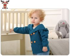 Миленький детский кардиган спицами с капюшоном платочной вязкой - ушки на макушке! Lamb, Animals, Animales, Animaux, Animal, Animais, Baby Sheep