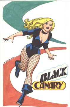 Steve Rude Black Canary