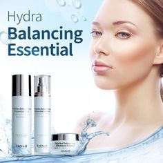 Extra dewy skin? We need Balanced hydration! Check out our hydra balancing essential set.
