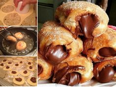 Nutella Churro Donut Holes Are Beyond Delicious