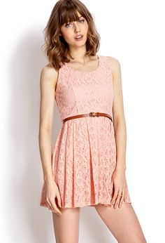 Rustic Lace Dress   FOREVER21 Little lacey things #F21Crush #Forever21 #ValentinesDay