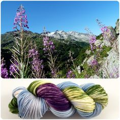 Yarn Baby — Mountain Flowers