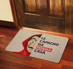 Fun Doormats: Learn How to Choose Fun Models - - Diy Toilet Paper Holder, Luxury Homes Exterior, Geek Decor, Cozy Living Rooms, Diy Desk, Button Crafts, Modern House Design, Vinyl Figures, Iphone Wallpaper
