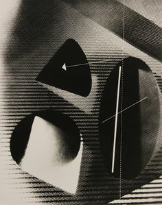 Gyorgy Kepes (American/Hungarian, 1906-2001), Untitled (Two Cones and a Sphere), 1938, gelatin silver print