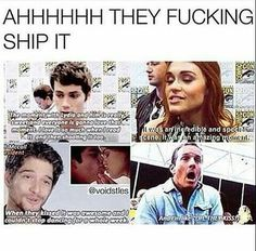THEY'RE STYDIA SHIPPERS OMG