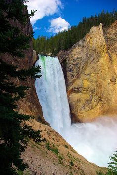 Free Image on Pixabay - Lower Falls Of The Yellowstone Take Better Photos, Road Trip Usa, Free Travel, Best Photographers, Plan Your Trip, Vacation Destinations, Wyoming, Trip Planning, National Parks