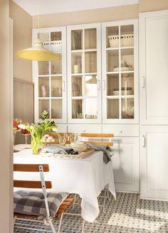 Маленькая, но уютная и комфортная кухня | Пуфик - блог о дизайне интерьера