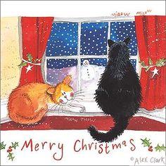 """""""Christmas Window"""" by Alex Clark"""