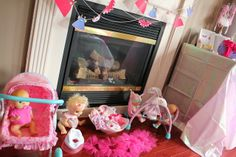 Planning a baby doll birthday party? Perfect for a sweet little mommy in your life! A blogger shares her tips and tricks for planning the perfect baby doll party!