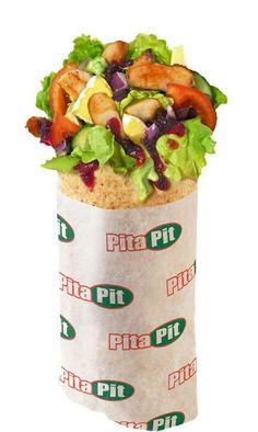 Chicken souvlaki pita pit