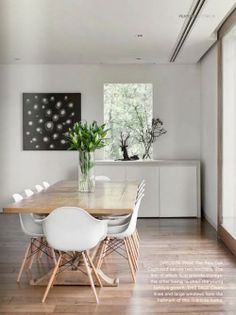 Eames dining room