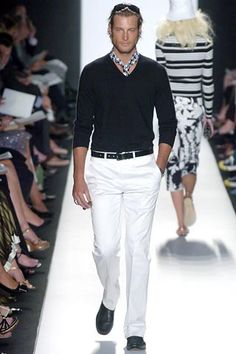 Michael Kors Spring 2005 Menswear Collection Slideshow on Style.com