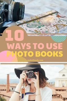 Photo books look like real books as opposed to traditional photo albums that have individuals slipping pictures into pages of sleeves. Photo books allow you to select (or create) layouts that incorporate pictures and text. #diycrafs #photobooks