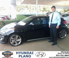 #HappyBirthday to Jerry Song from Samuel Anthony Salas at Huffines Hyundai Plano!