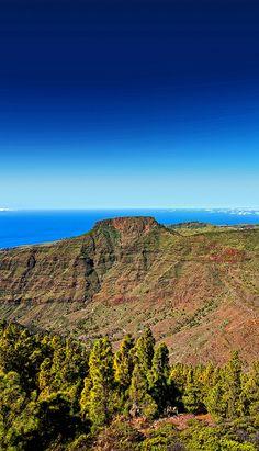 Fortaleza de Chipude, Isla de La Gomera. Islas Canarias. España