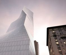 425 Park Avenue: OMA's proposal,View from Park Avenue © Courtesy OMA