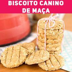 Homemade Dog Treats, Pet Treats, Dog Biscuit Recipes, Dog Food Recipes, Frozen Dog Treats, Snacks Saludables, Good Food, Yummy Food, Diy Stuffed Animals
