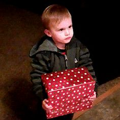 """""""You can't open it until Christmas."""""""