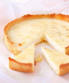 white chocolate panna cotta tart  |  Crush 37
