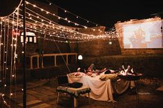 A Surprise Movie Night for Bae The best date night you can have with your spouse Pre Wedding Photoshoot, Wedding Shoot, Wedding Ideas, Romantic Date Night Ideas, Movies Under The Stars, Perfect Date, Wedding Proposals, Good Dates, Romantic Movies