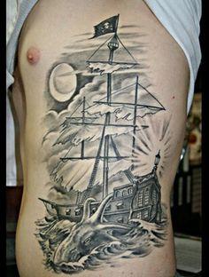 Nice pirate ship side piece