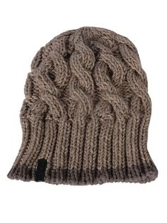 Cable Knit Beanie by hatattack $50