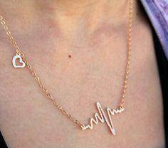 Heartbeat Necklace - at Sweet Lemon Boutique.com