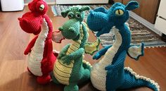 These guys are absolutely amazing!Dragon Dragon Dragon! Ever wonder how to train your dragon? Assuming you have one of course! 🙂 Here is your chance, not only you get to learn how to make these spectacular handmade toys (which by the way, is much easier than you think! ) but you'll also make some of …