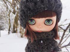 """15 gilla-markeringar, 1 kommentarer - Mu Blythe (@oddblythe) på Instagram: """"The first doll sure is special 💕❄️ #blythecustom #ooakblythe #blythegram #blythe #oddblythe"""""""