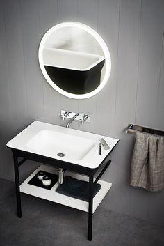 Agape - Products - Washbasins - Novecento XL