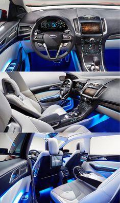2014 Ford Edge Show Car Interior