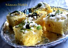 The Chef & His Better 1/2: Instant Khaman Dhokla....in 20 minutes